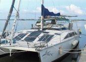A PDQ 36 cruising catamaran