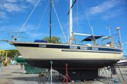 A Corbin 39 long distance cruising sailboat
