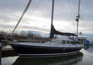 William Tripp designed 'Conquista', a ketch rigged cruising yacht