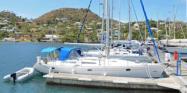 The Jeanneau Sun Odyssey 42.1 high volume production cruising yacht