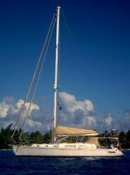 'MAZU' - an Outbound 46 cruising sailboat
