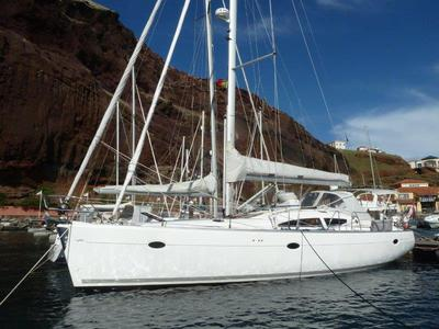 In Madeira, with removable staysail rigged