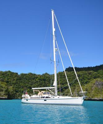 Adina at anchor