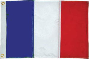 National Flag of St Barts (French)