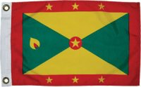 National Flag of Grenada & Carriacou