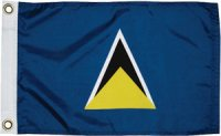 National Flag of St Lucia