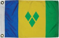 National Flag of St Vincent and The Grenadines