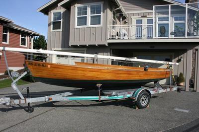23 ft Joel White design wooden centerboard sloop