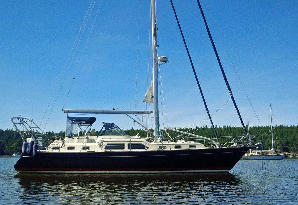 Island Packet sailboat