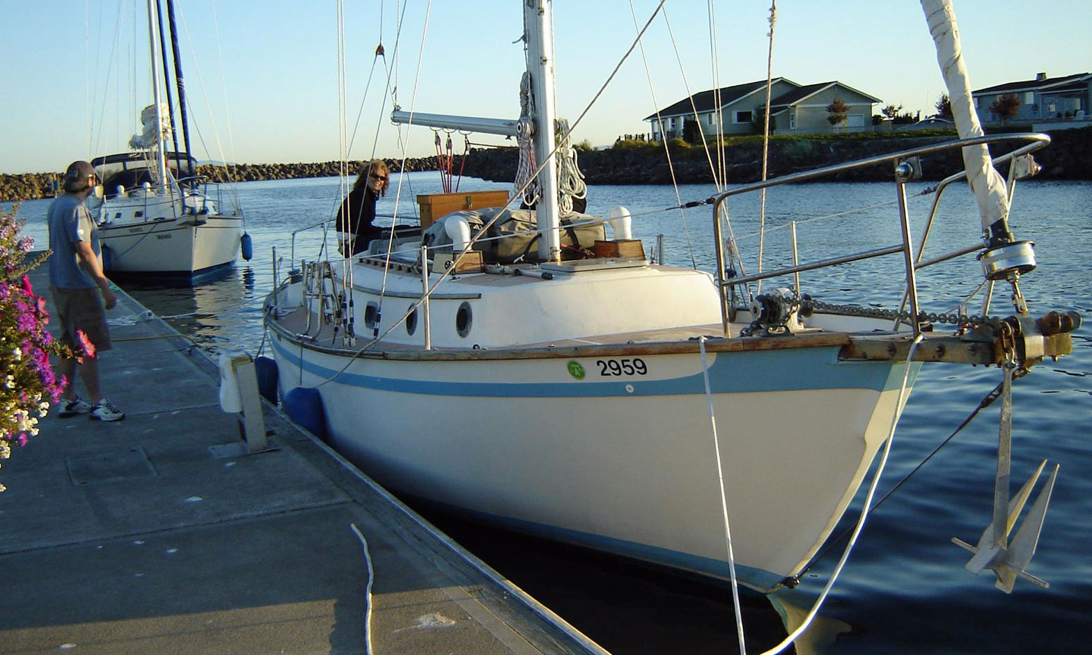 A Southern Cross 31 cutter