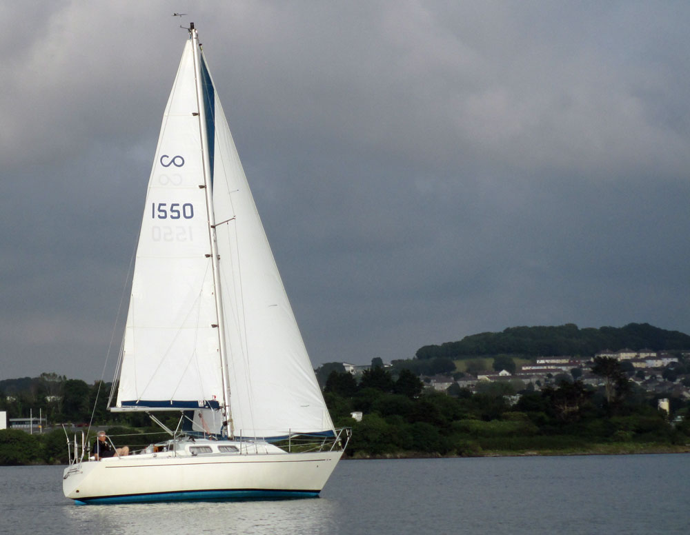 Contessa 38 sailboat
