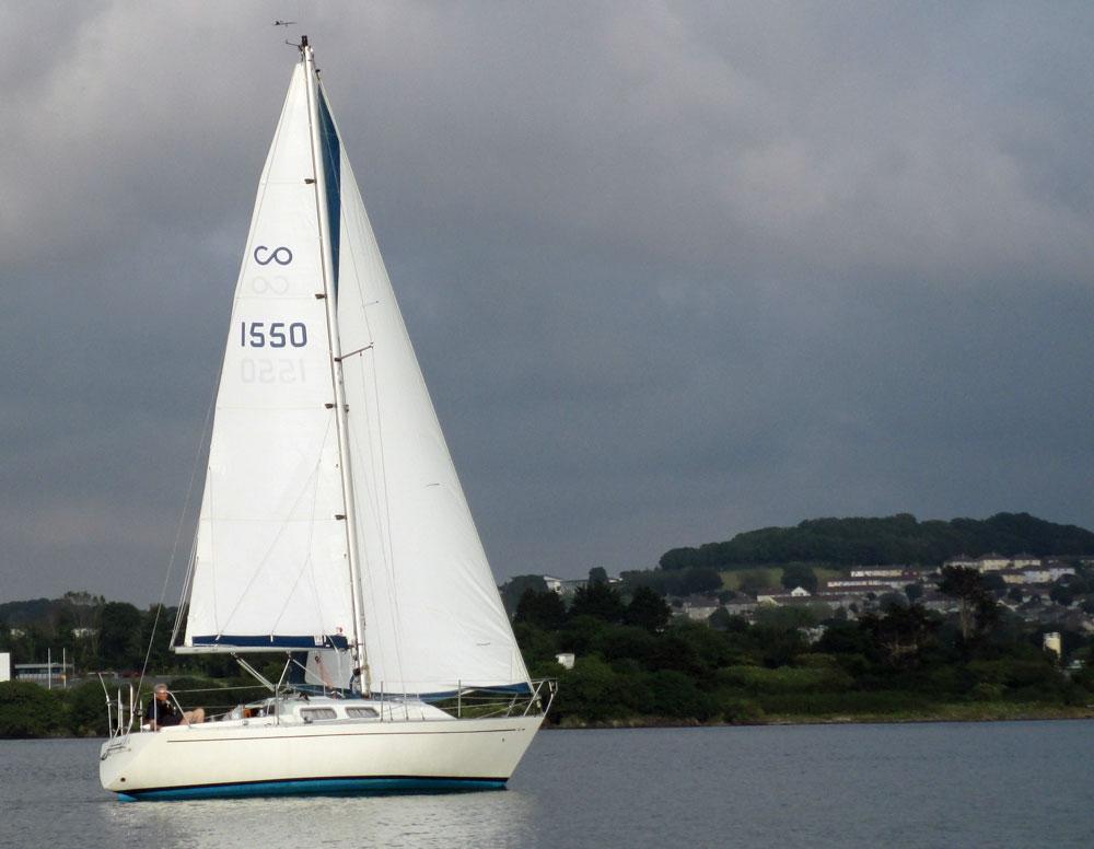 Contessa 38 sailboat
