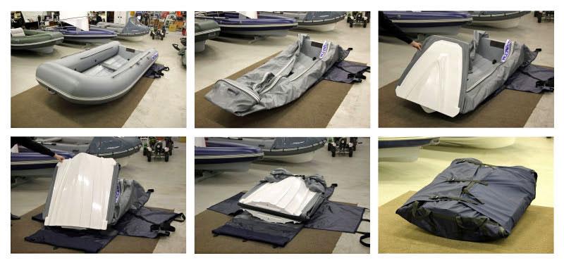 Winboat 275 foldable RIB