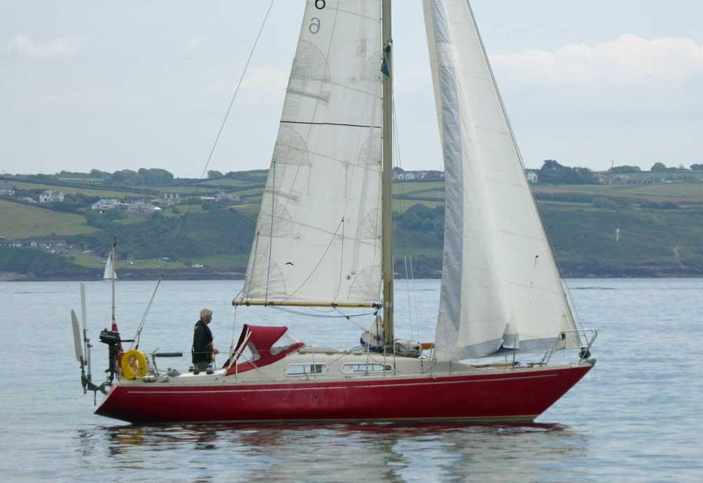 Sailboat 'Sixpence', and Albin Ballad