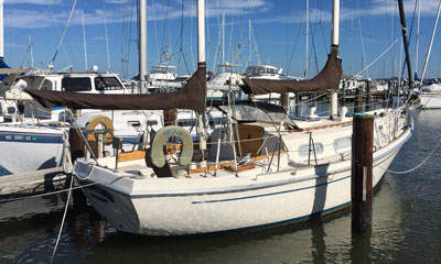 'Aeolia', an Allied Yachts 32' Seawind Mk II Ketch for sale