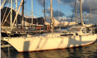 Amal Sharki 39 sailboat