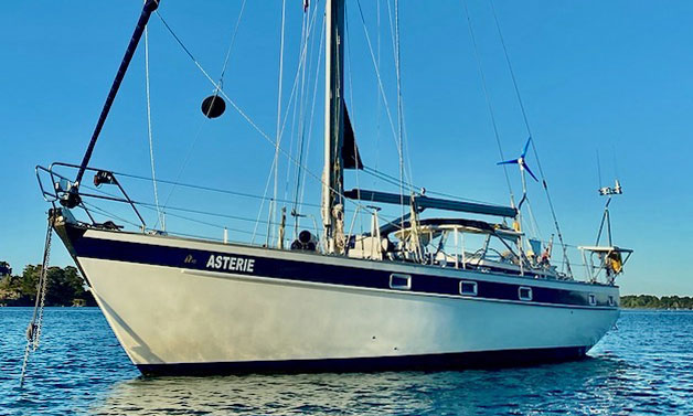 A Halberg-Rassy 42 sailboat for sale