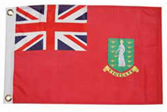 BVI Courtesy Flag