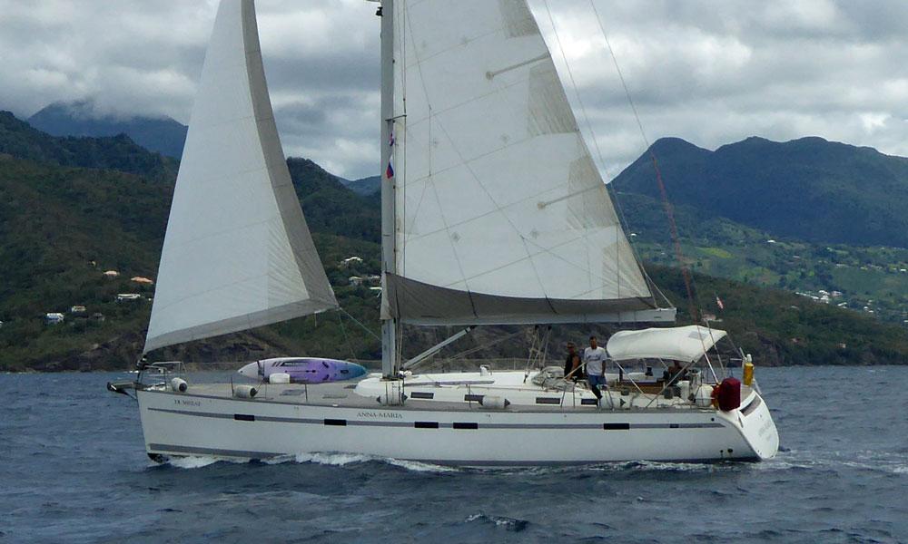 A Bavaria 55 Cruising Yacht