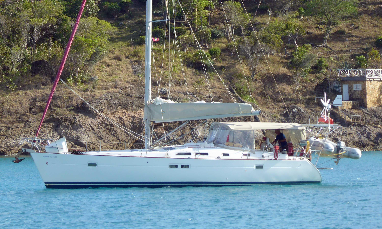 Beneteau 423 cruising yacht