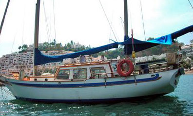 CT41 Ketch sailboat for sale