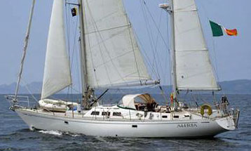 'Aleria', a Bowman 57 Staysail Ketch for Sale