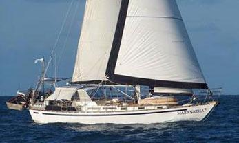 'Maranatha', a Bruce Roberts Mauritius 43 sailboat for sale