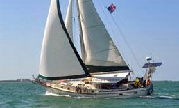 'Chanticleer', a CSY 44 ft. Cutter Rigged Walkover for Sale