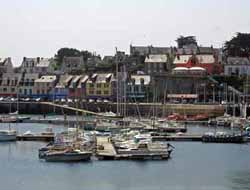 moorings at camaret-sur-mer in the Baie de Brest