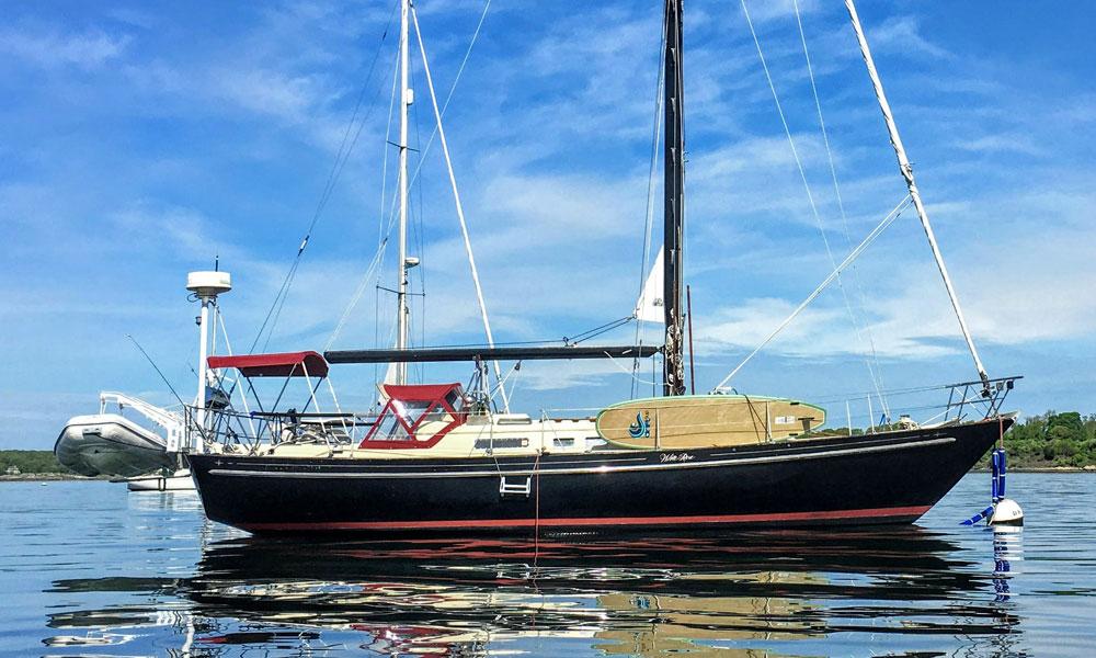 A C&C Landfall 42 sailboat