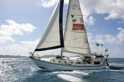 'Transcendence'is a Cascade 36 sailboat.
