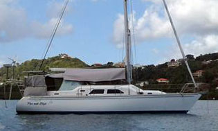 'Pipe Muh Bligh', a Catalina Morgan 440DS for sale