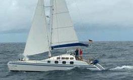 a Tropic 12 Catamaran