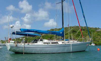 'Zen', a Cheoy-Lee 46 for sale