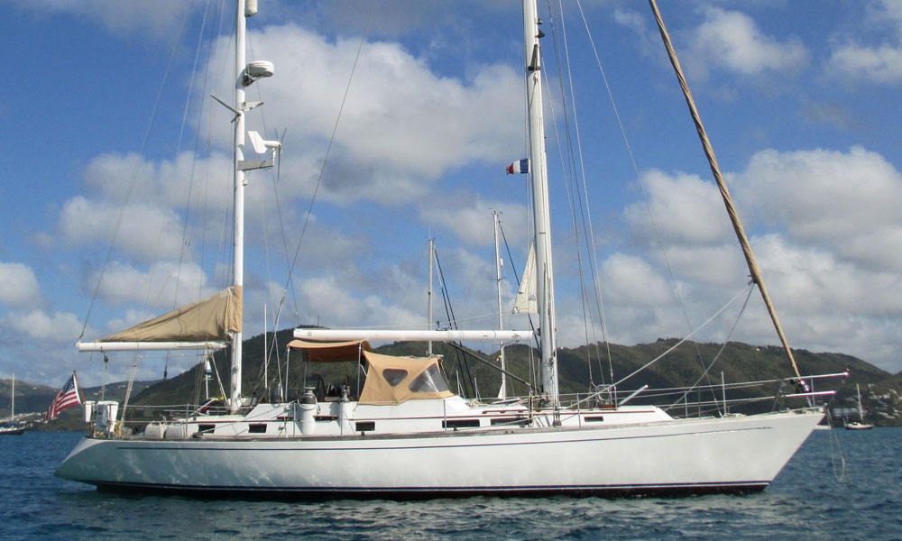Dawn 48 ketch