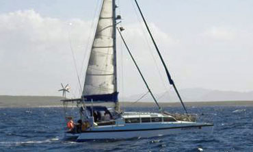 Deancat 365 catamaran for sale