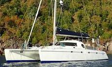 A 46' Fountaine Pajot Casamance catamaran for sale