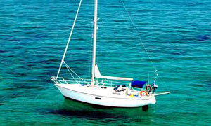 A Dufour 35 for sale