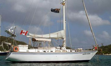 An Endeavour 42 sailboat for sale