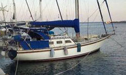 An Endurance 37 sailboat for sale