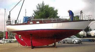 A ferro-cement cruiser