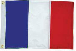 French courtesy flag