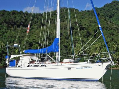 This one-owner Fraser 41 cutter has crossed the Pacific with a family of four and is now located in the Caribbean and ready to go again.