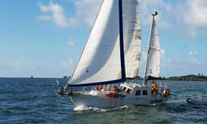 'Gdynianin', a Roberts 28 Steel Ketch for sale