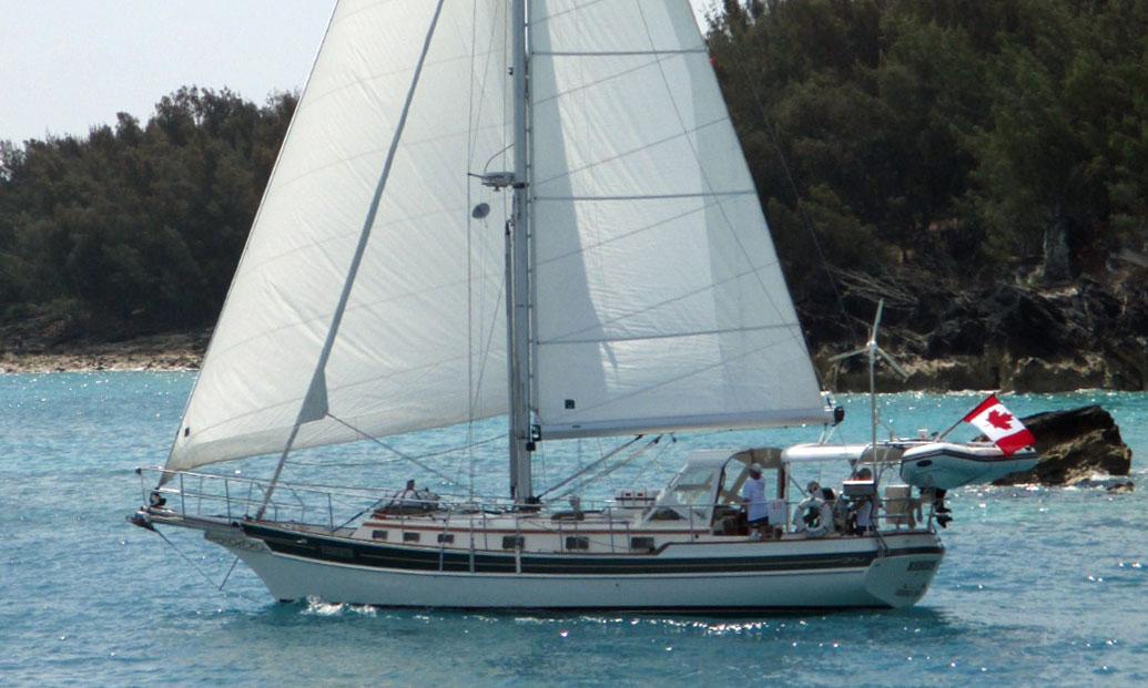 'Reberth', a Gozzard 41 sailboat
