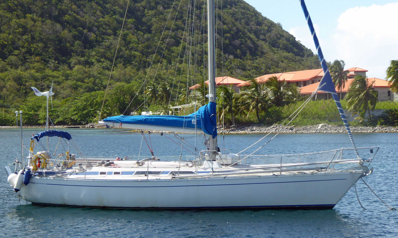 A Grand Soleil 39 sailboat
