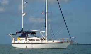 Gulfstar Sailmaster 47 cruising sailboat for sail