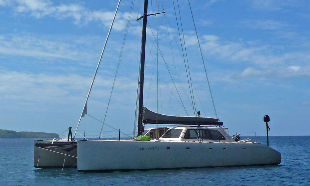 Gunboat 62 high performance cruising catamaran