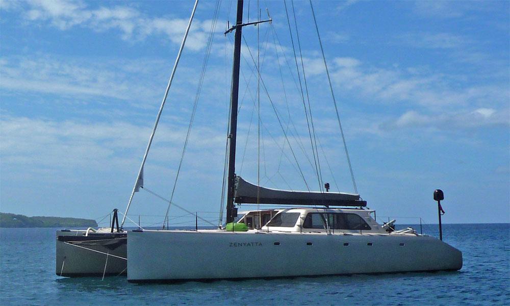 Gunboat 62 high performance cruising catamaran