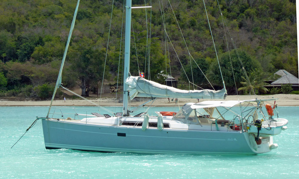 Hanse 400 sailboat